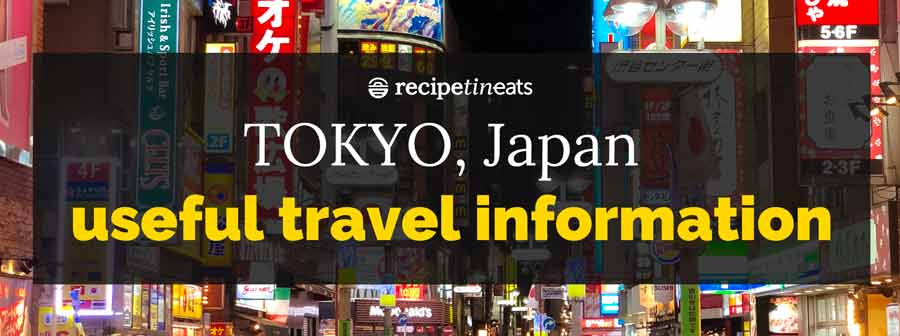 Tokio Japan Reiseinformationen - Überschrift