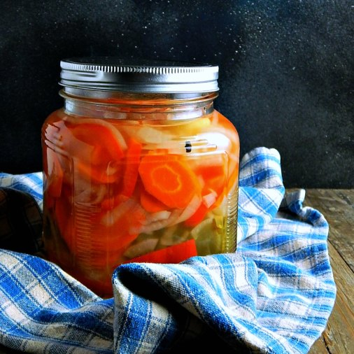 Escabeche - Mexican Pickled Vegetables