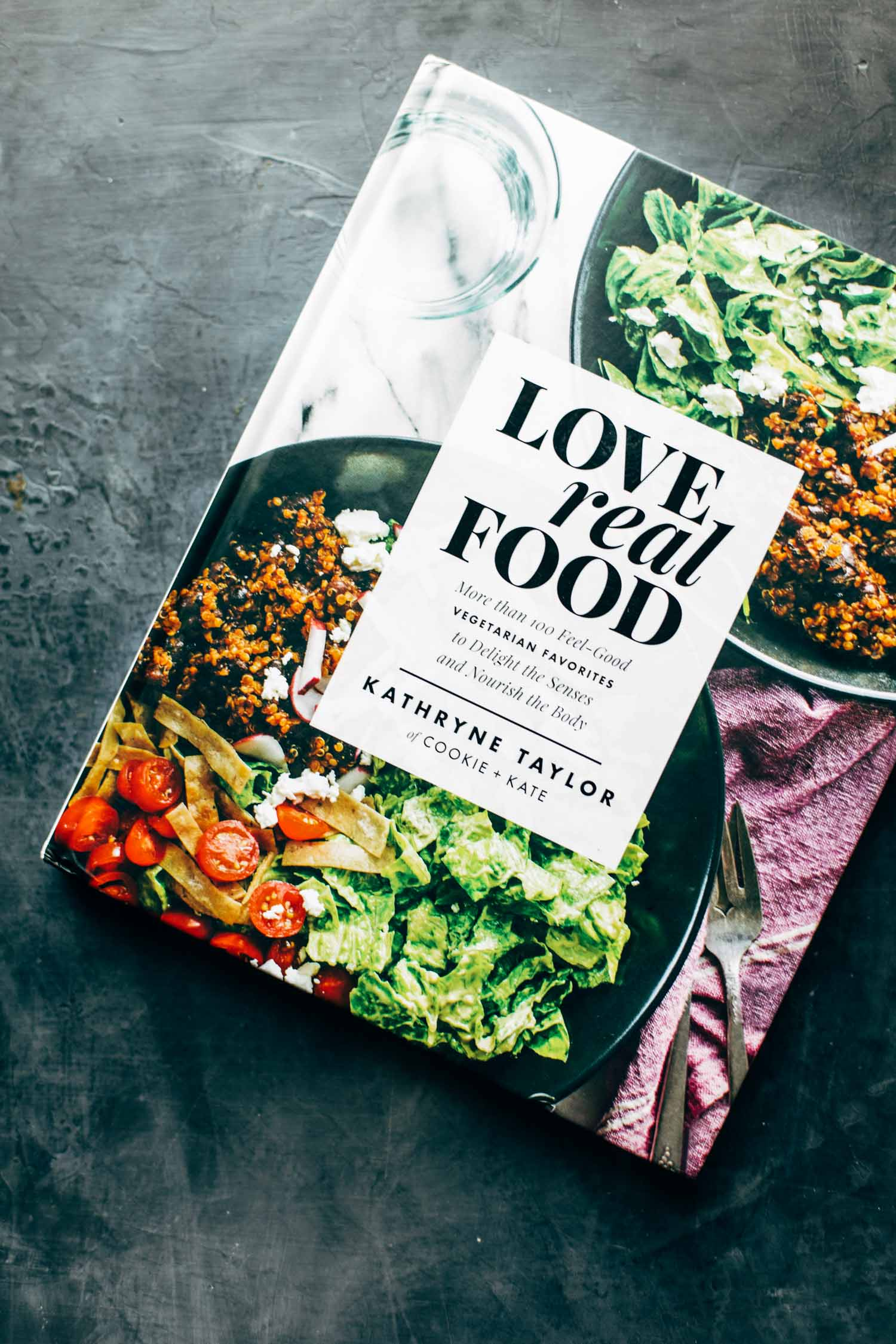 Love Real Food-Kochbuch.