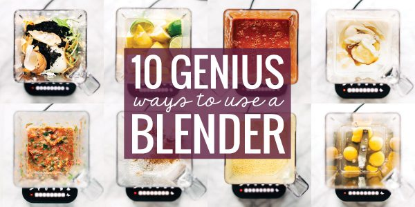 blenders with various sauces