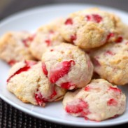 Orangeberry Shortcake Cookies
