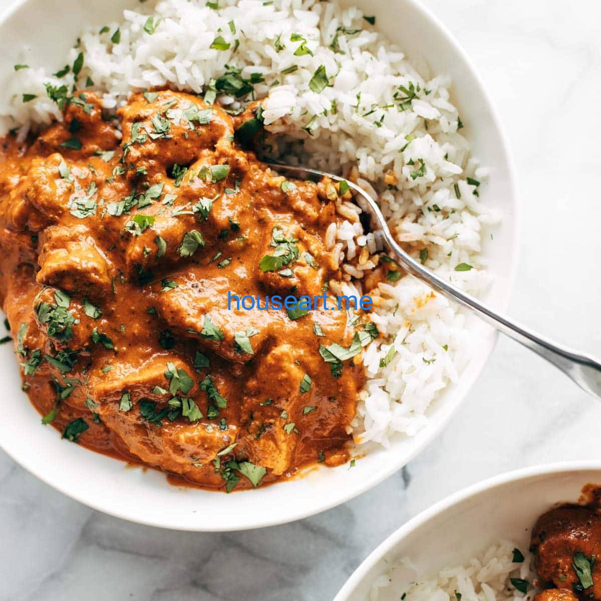 Chicken Tikka Masala Rezept - Pinch of Yum