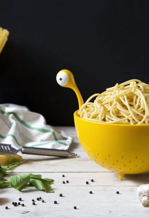 Product Of The Week: Cute Spaghetti Monster Shaped Strainer