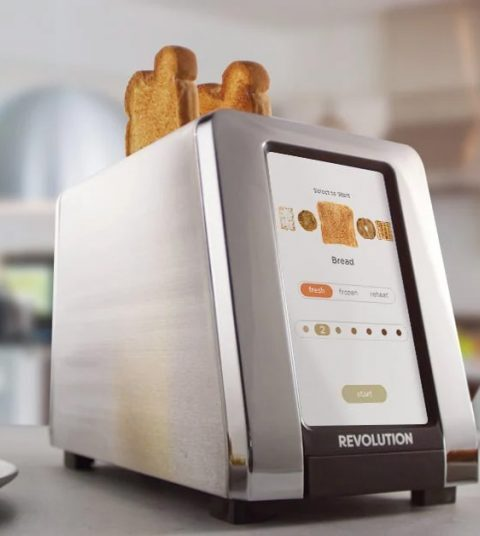 Product Of The Week: A Modern Smart Toaster With An Intuitive UI