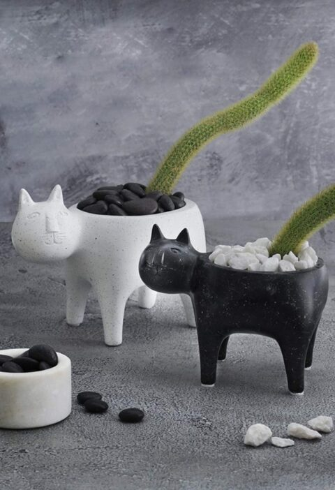 Product Of The Week: Cute Cat Planters
