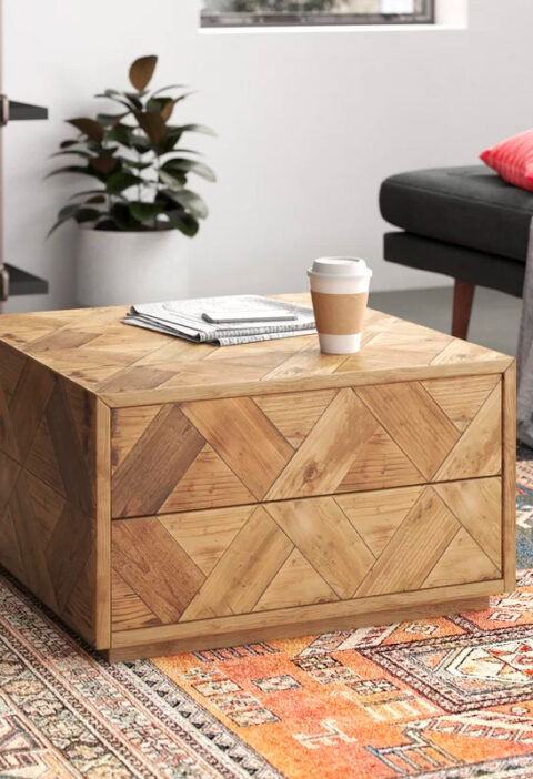 51 Farmhouse Style Coffee Tables To Drop Rustic Elegance Into Your Living Room