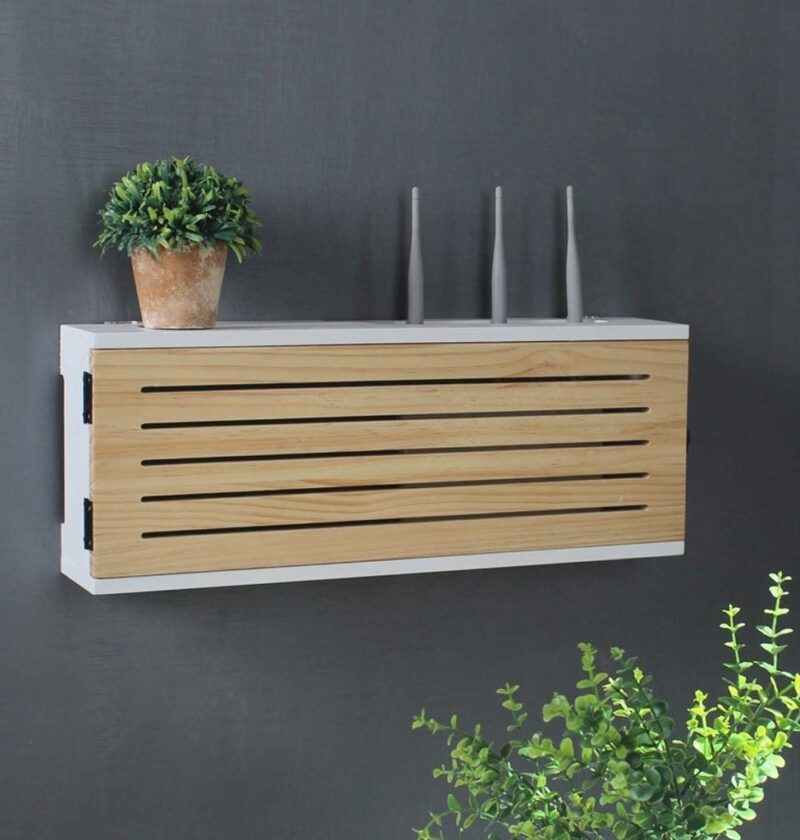 Product Of The Week: A Beautiful Wall Storage Box To Hide Your Router
