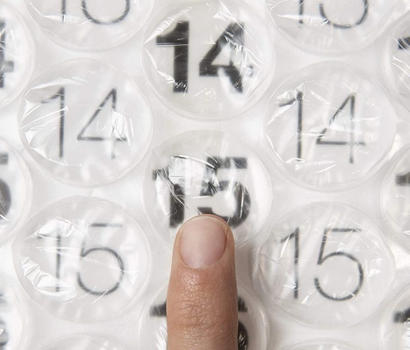 Product Of The Week: A Bubble Wrap Calendar For 2021